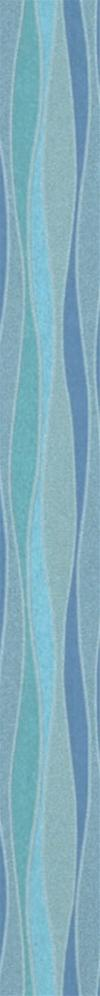 DECORO 4,5X45 SPLASH WAVES AZZURRO CIELO
