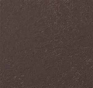 GRES 60X60 KYOTO BROWN DECORATED RETTIFICATO LAPPATO MM.10