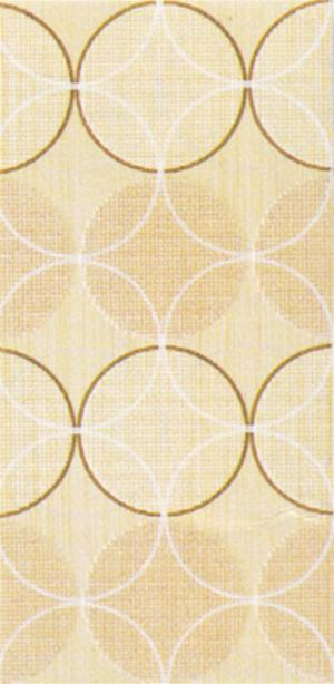 DECORO 20X40 FASHION CIRCLES BEIGE