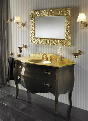 Bagno color oro for Angelo case mobili